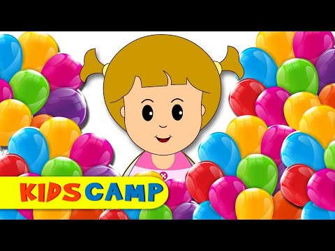 Learn colors With Finger Family Nursery Rhymes Songs Eva's Birthday Surprise Children Babies Songs