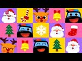 Police Car and Santa's Gifts | Car Songs | Christmas Songs | Pinkfong Songs for Children