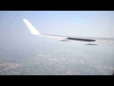 Boeing 767-300ER, AeroSvit Airlines, flight from Kiev to New York (JFK), Take off and Landing