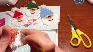 Видео урок: Дед Мороз крючком