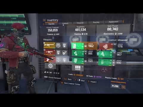 The Division - Solo Resistance Farm on Powerhouse (5 Caches)