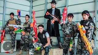 LTT Nerf War : Captain SEAL X Warriors Nerf Guns Fight Arsenal Intruder Dr Lee