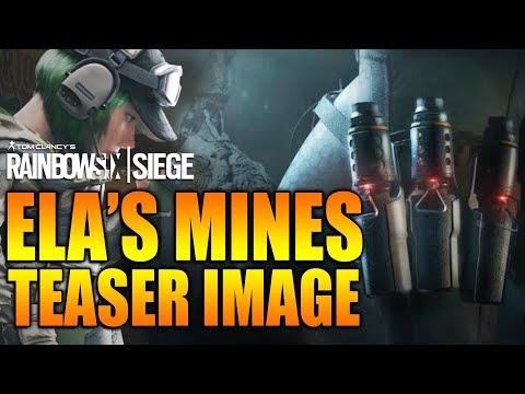 Rainbow Six Siege - In Depth: ELA'S MINES TEASER IMAGE - SEASON 3 POLISH DLC OPERATOR