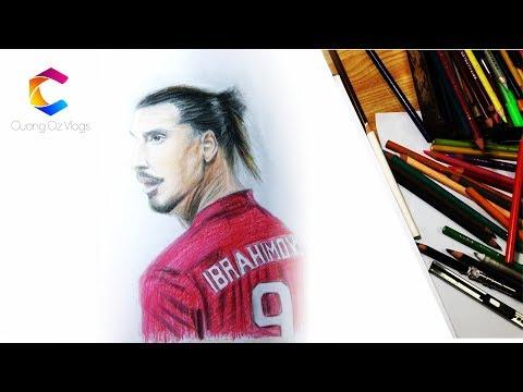 Vẽ Zlatan Ibrahimović - Drawing Zlatan Ibrahimović