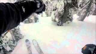 Backcountry Skiing Baldy Rocks @ Kootenay Pass, March 16, 2015
