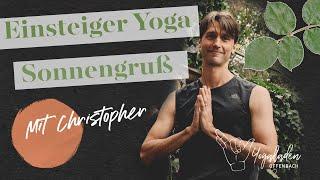 Yoga Einsteigerkurs Teil 1| Sonnengrüße | 40 Minuten | YLO Christopher