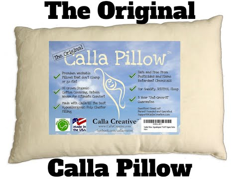 Testing the Original, Organic Calla Pillow