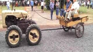 STRANGE FARM TRACTOR