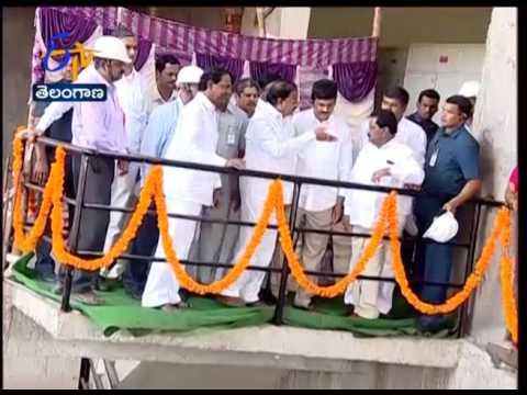 KCR Inaugurates Bhakta Ramadasu Lift Irrigation Project in Khammam
