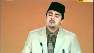 "Urdu Nazam ""Hazratay Saiyaday Wulday Aadam"" Jalsa Salana UK - 2011 - Nazam 2nd Day 1st Session"