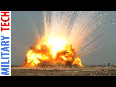 WORLDS LARGEST Non Nuclear Bomb GBU-43 B Massive Ordnance Air Blast