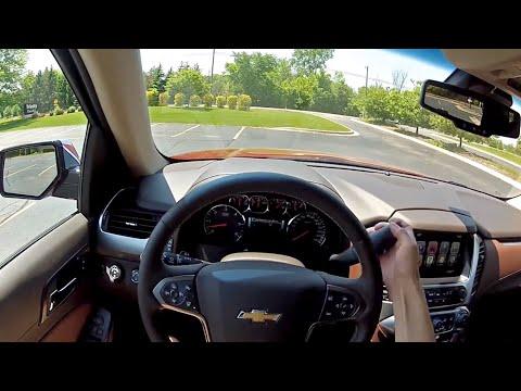 2015 Chevrolet Tahoe LTZ WR TV POV Test Drive