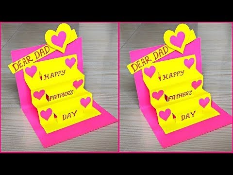 Father's day card making ideas / Diy father's day greeting cards / Father's day pop up cards