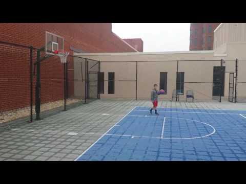 Baltimore Rooftop Basketball