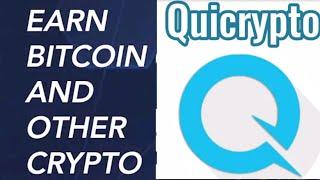 qui crypto earn crypto free bitcoin