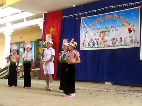 Chào hỏi thi  Tiếng Việt của chúng em
