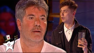 Download Simon Cowell Can't Believe His Eyes! Magician SHOCKER on BGT 2019 | Magicians Got Talent Mp3 and Videos