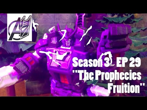 Transformers Prime Legacy EP 29 [Galvatron vs Predaking] Stop Motion