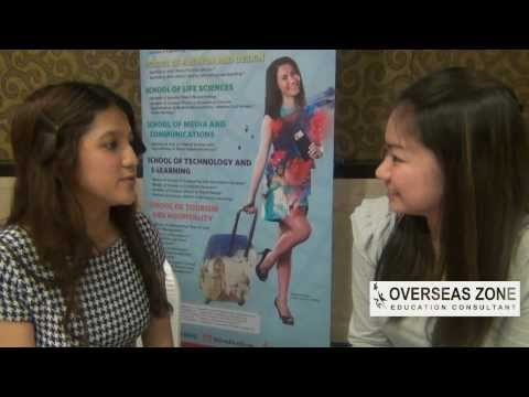Interview with school partner at International Education day 2014 - 090314
