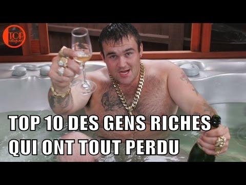 TOP 10 DES GENS RICHES QUI ONT TOUT PERDU