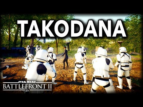 Star Wars Battlefront 2 GALACTIC ASSAULT ON TAKODANA