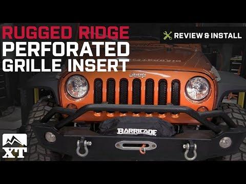 2007-2017 JWM 4x4 Billet Grille Insert for Jeep Wrangler JK Chrome
