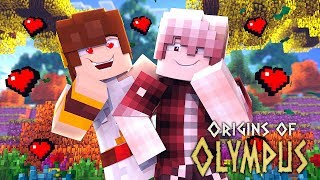 "Minecraft Origins of Olympus - ""A NEW LOVE?!"" #4 (Minecraft Percy Jackson Roleplay)"
