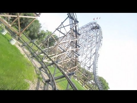 Excalibur Front Seat on-ride HD POV Valleyfair!
