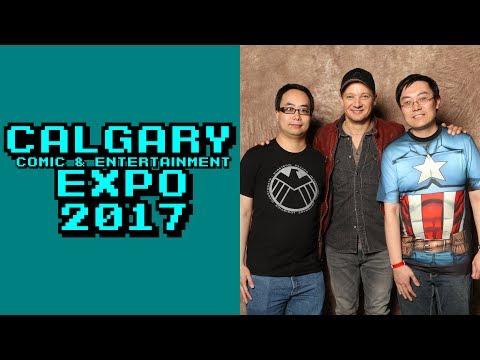 Vlog: Calgary Expo 2017 - JEREMY RENNER!