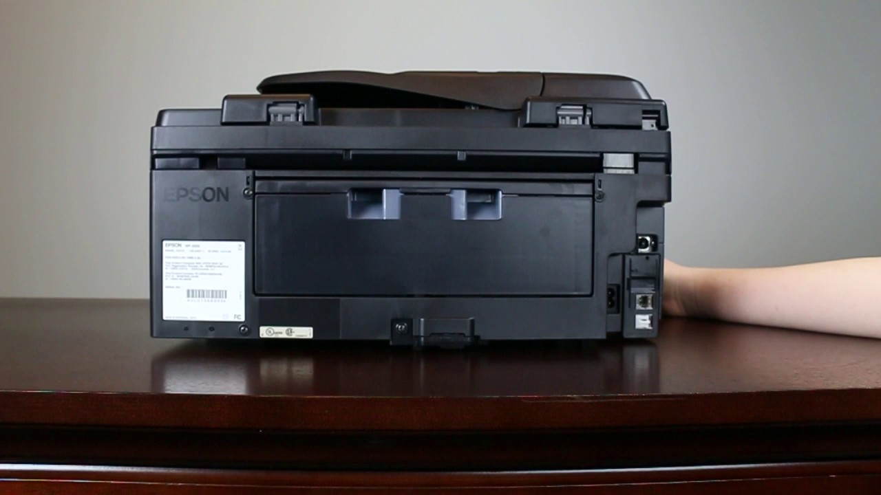 Epson WorkForce WF-2650 | Setting Up Your Printer