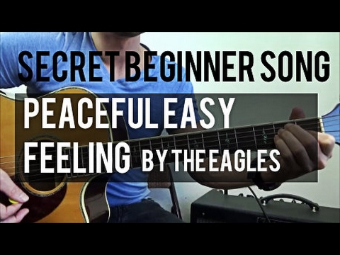 Secret Easy Beginner Song | Peaceful Easy Feeling by The Eagles | Acoustic Guitar Lesson