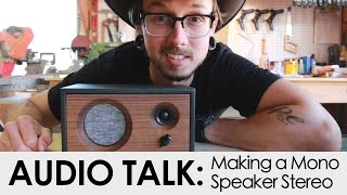 how to make my mono speaker stereo thank you subscribers