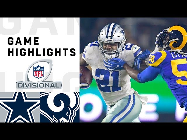 Cowboys vs. Rams Divisional Round Highlights | NFL 2018 Playoffs