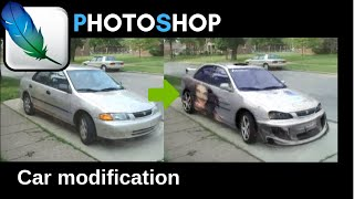 Photoshop Modified Car