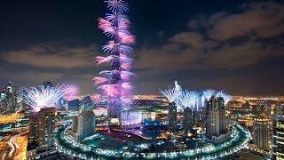 Новогодний фейерверк в Дубае(Если составлять список из десяти самых шикарных, красивых и технологичных городов мира, то без Дубай такой..., 2016-12-07T12:10:39.000Z)