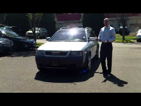 2001 Audi Allroad Quattro review - In 3 minutes you'll be an expert on the 2001 Allroad