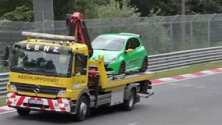 Nordschleife 14.07. Nürburgring Touristenfahrten Fuchsröhre, highspeed action