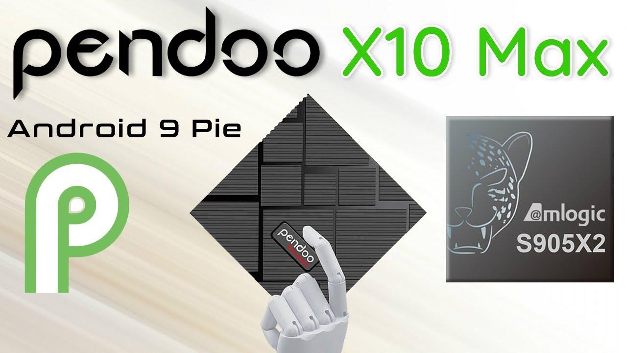 Pendoo X10 Max Amlogic S905X2 Quad Core 4K TV Box Review