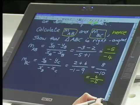 Maths 911 Grade 11 Analytical Geometry - YouTube