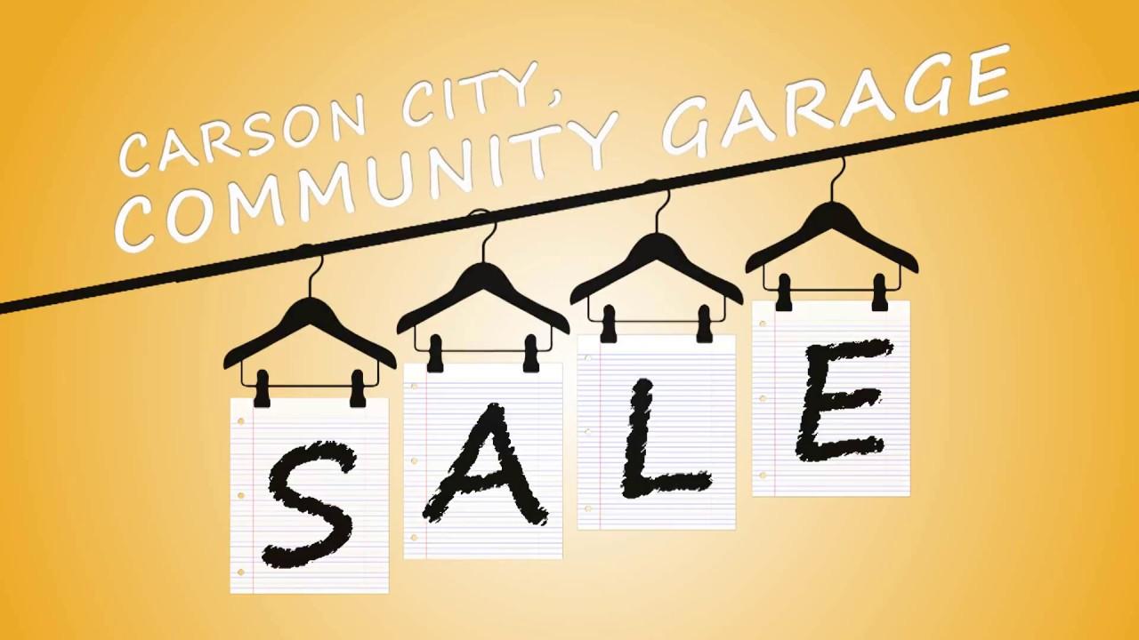 Garage sale   Carson City Nevada News - Carson Now