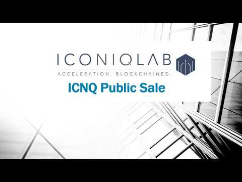 Iconiq Lab Public Sale is Live Now!