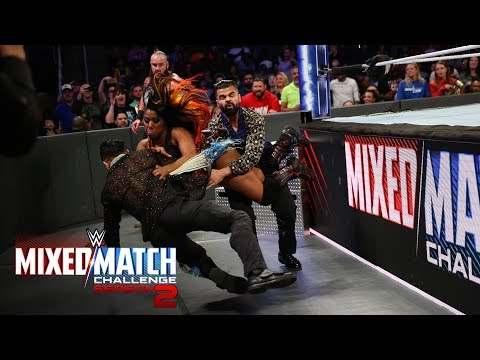 Moon takes out both Singh Brothers on WWE MMC