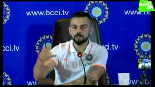 Virat Kohli Says he's going to England with 100 % Fitness, says India's mindset is to win only