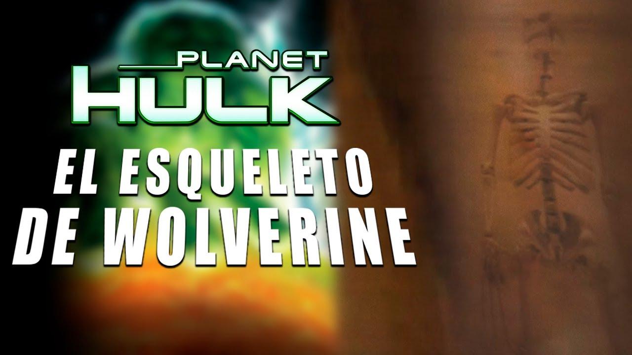 Download El Esqueleto de WOLVERINE en PLANET HULK (2010) - EASTER EGGS #Shorts