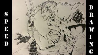 Speed Drawing! Trigun - Vash
