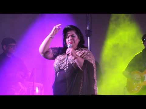 Dama Dam Mast Qalandar most popular Qawwali By Runa Laila || 50 Years Jubilee Concert || London 2016