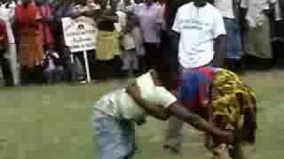 Women's Bakweri Traditional Wrestling