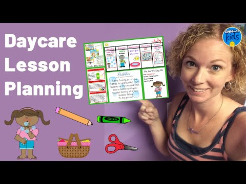 Daycare Lesson Planning! How I create classroom activities for Infants and Toddlers.