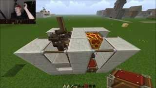 Lær Det Redstone - Ko breader og kød, læder maskine