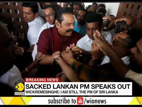 Ranil Wickremesinghe Says He's Still PM